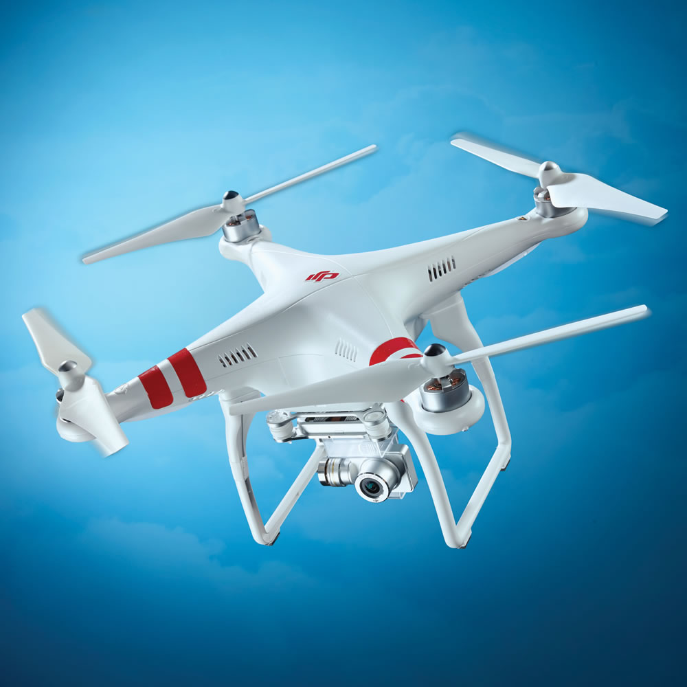 Hammacher flying camera drone - free shipping coupon