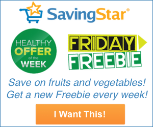 Freebie Friday from SavingStar