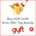 Gyft Coupons and Deals