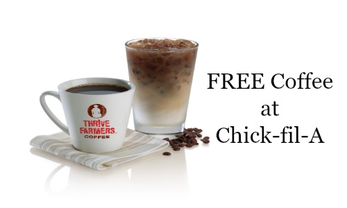 Free Coffee at Chick-fil-A in February
