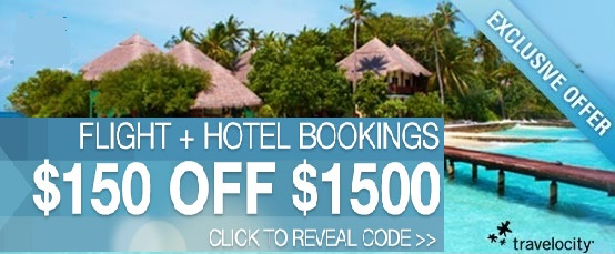 Travelocity Coupon for $150