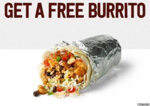 Free Chipotle Burrito BOGO