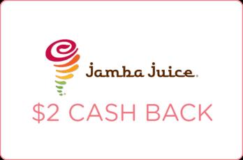 Jamba Juice Coupon $2 Off Cash Rebate