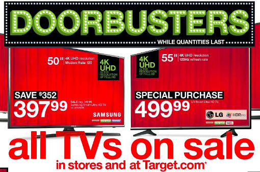 Are Target Black Friday TV Deals Worth a Peek?
