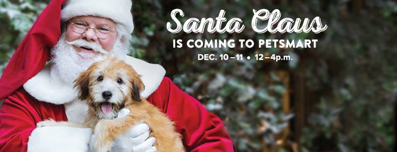 Petsmart: FREE Photo of Your Pet with Santa at Your Local Store